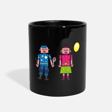 Couples robot couple - Full Color Mug