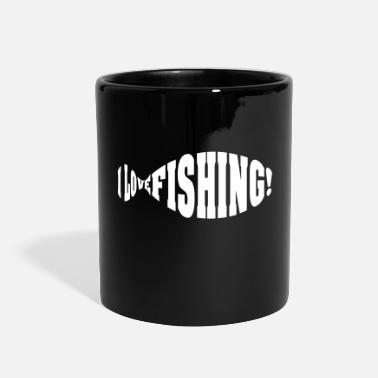 I Love Fishing i love fishing - Full Color Mug