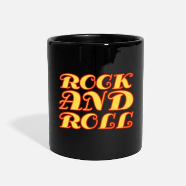 Lettering &amp Rock and Roll - Full Color Mug