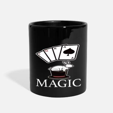 Magic Magic Magic Magic Card Trick - Full Color Mug