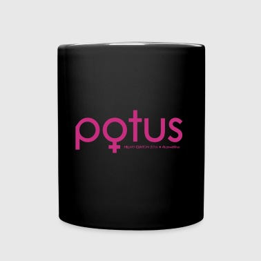 Hillary Clinton - POTUS - Full Color Mug