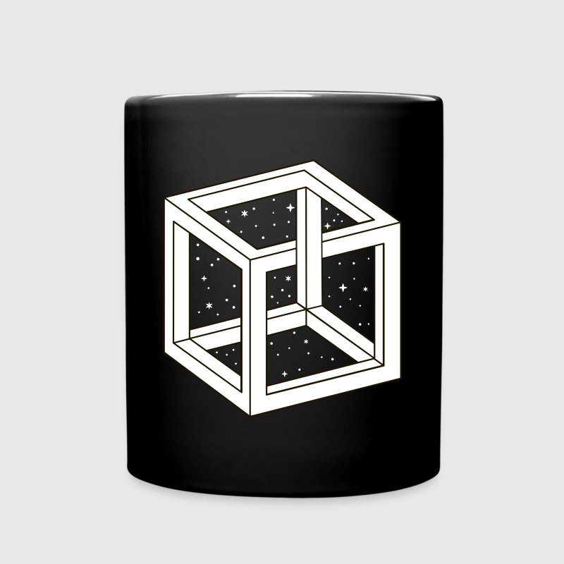 Unreal Cube Space - Full Color Mug