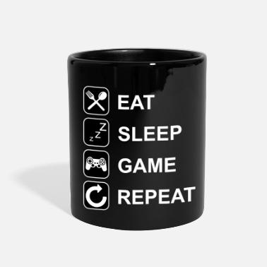 Eat Eat Sleep Game Repeat - Full Color Mug