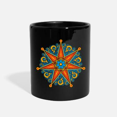 Girl Elven Elf Elven Star, Perfection & Protection, Fairy, Magic - Full Color Mug