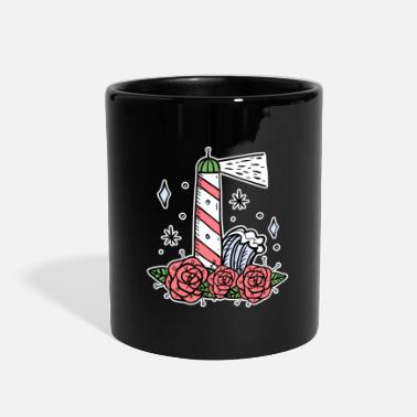 North Sea Lighthouse coast North Sea holiday gift - Full Color Mug