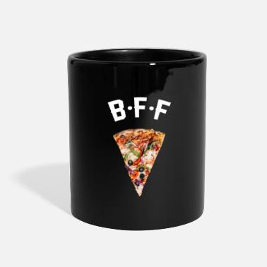 Pizza Pizza Fastfood BFF Best Friend Forever - Full Color Mug