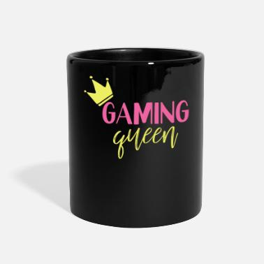 Clan Gaming Queen Play Gemes Online - Full Color Mug