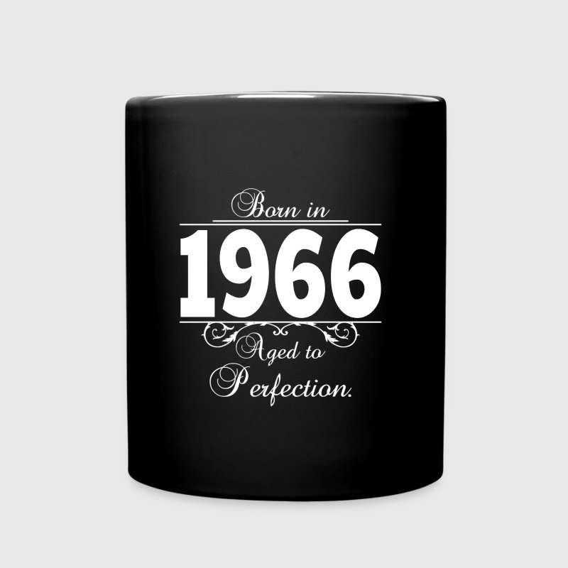Born in 1966 Birthday - Full Color Mug