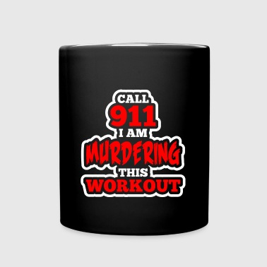 Funny Gym Workout Fitness - Full Color Mug