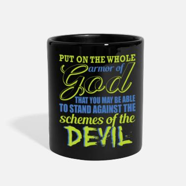 Armor Of God Put On The Whole Armor Of GOD - Full Color Mug