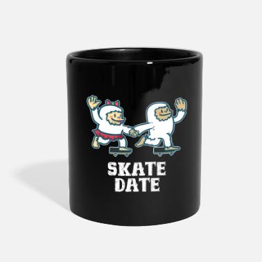 Couples Skateboard Gift Board Spot Sport Skateboarding - Full Color Mug