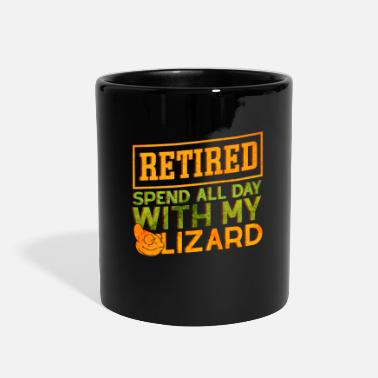 Retirement Whole Day With My Lizard retired retirement Gift - Full Color Mug