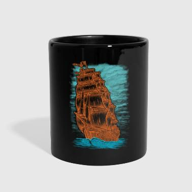 Ship Pirate Pirateship Sailing Boat Fisherman Gift - Full Color Mug
