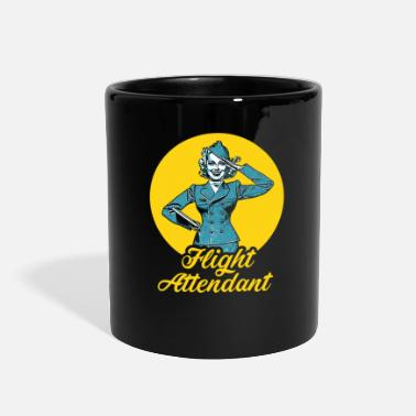 Flight Flight Attendant Stewardess Airline Travel Job - Full Color Mug