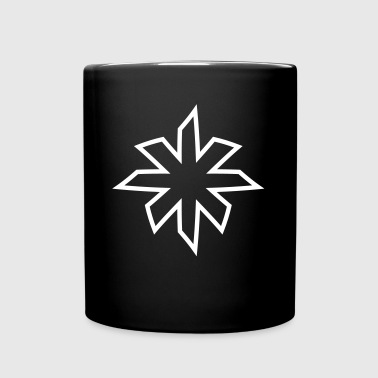 minimalistic star - Full Color Mug