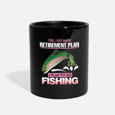 Retired Funny Fishing Yes i do have Retirement Plan Gift - Full Color Mug