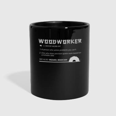 Woodworker Lumberjack Axe Chainsaw - Full Color Mug