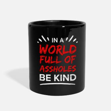 Provocation Asshole Sarcasm Sarcastic Provocation Cheeky Iron - Full Color Mug