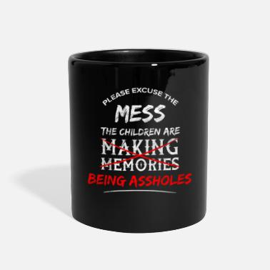 Provocation Asshole Sarcasm Sarcastic Provocation Insult - Full Color Mug