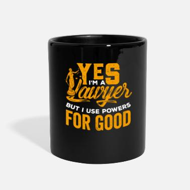 Quote Lawyer Law Student Attorney Judge Advocate Gift - Full Color Mug