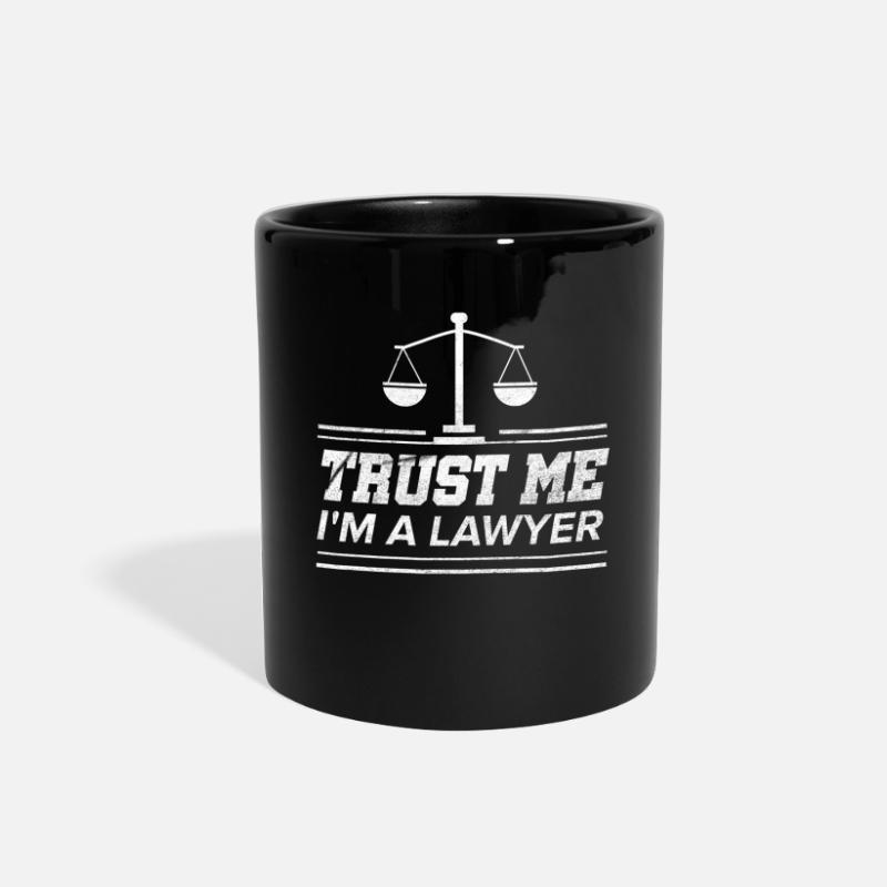 Lawyer Funny Law Student Attorney Advocate Gift Full Color Mug