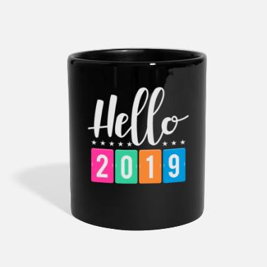 Suff New Years Eve Happy New Year 2019 Fireworks Gift - Full Color Mug