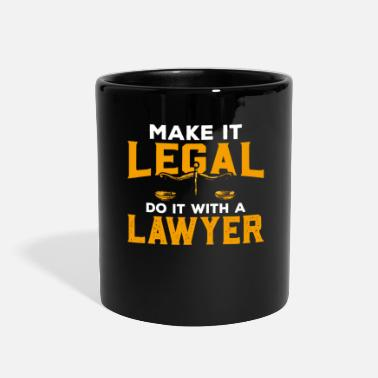 Judge Lawyer Law Student Attorney Judge Advocate Gift - Full Color Mug