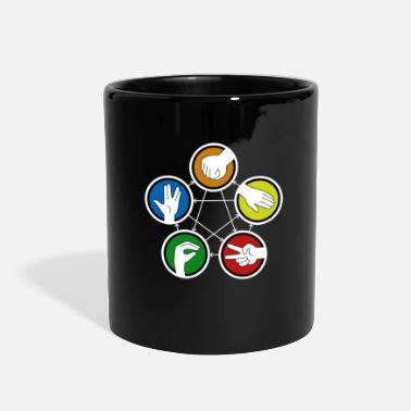 Lizard Rock Paper Scissors - Full Color Mug