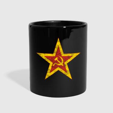 Used Communist Red Star - Full Color Mug