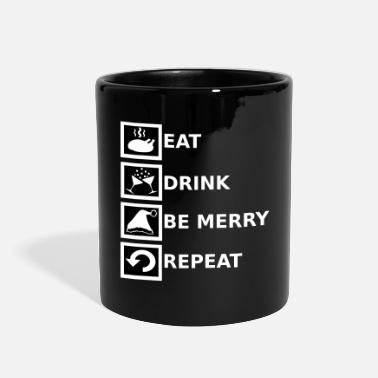 Funny Funny Christmas T-shirt - Full Color Mug