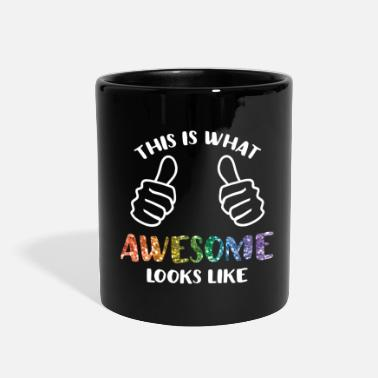 What This Is What Awesome Looks Like LGBT - Full Color Mug