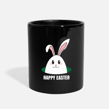 Meadow Rabbit Meadow Fluffy Cute Easter - Full Color Mug