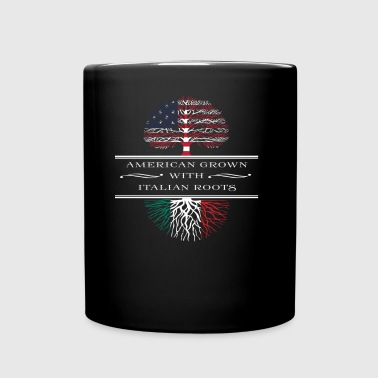 American Grown With Italian Roots T-shirt - Full Color Mug