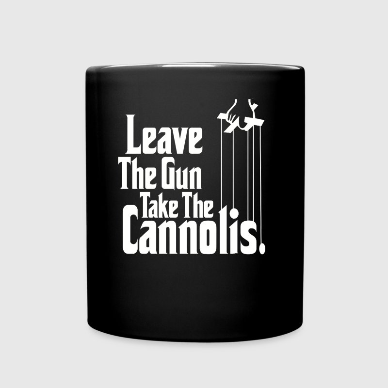 Leave The Gun Take The Cannolis Italian T-shirt - Full Color Mug