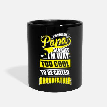 Cool Papa Too Cool - Full Color Mug