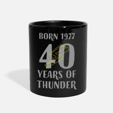 40 Years 40 YEARS OF THUNDER - Full Color Mug