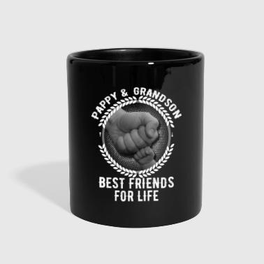 Pappy And Grandson Best Friends For Life - Full Color Mug