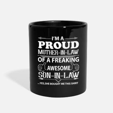 Mother I'm Proud mother in law - Full Color Mug