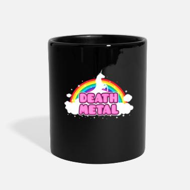 Rainbow Mosh DEATH METAL! (Funny Unicorn / Rainbow Mosh Parody - Full Color Mug