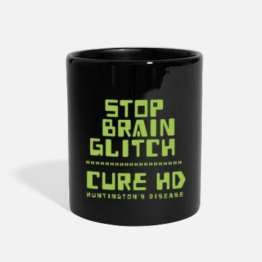 brain glitch - Huntington - Full Color Mug