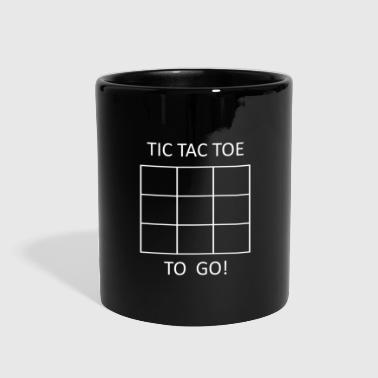 Tic Tac Toe to go - Full Color Mug