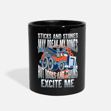 Tow Breakdown Lorry Tow Truck Gift - Full Color Mug