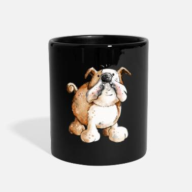 Painting English Bulldog - Bulldogs - Dog - Gift - Cartoon - Full Color Mug