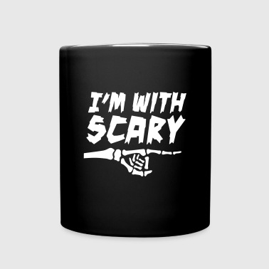I'm with scary (stupid) - Full Color Mug