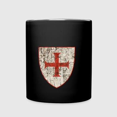 Templar Cross, Old - Full Color Mug