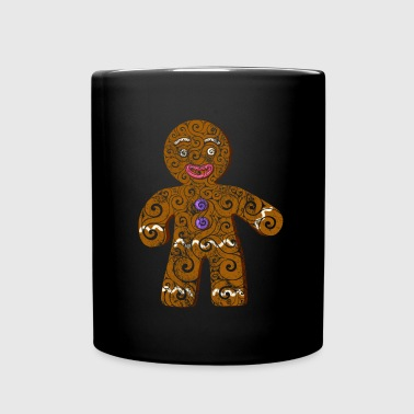 Swirly Gingerbread Man - Full Color Mug
