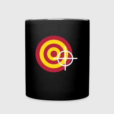 target with a targeting - Full Color Mug