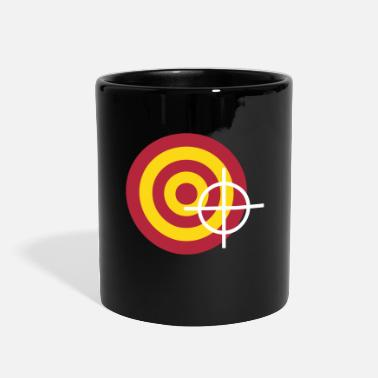 Target target with a targeting - Full Color Mug
