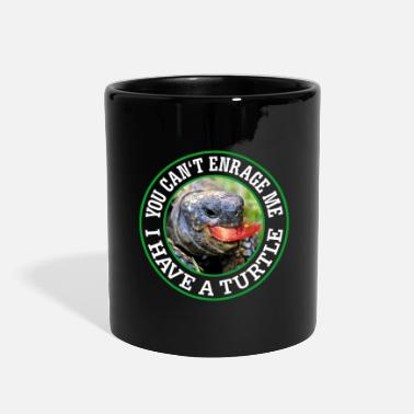 Mouth You can't enrage me - I have a Turtle - Full Color Mug