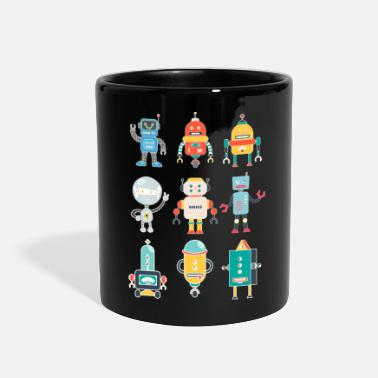 Robot Toy Funny Robots - Electronic Battery Toys - Humor - Full Color Mug